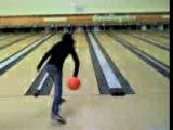 Amandine qui tir bowling