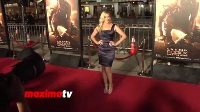 Katee Sackhoff - RIDDICK Rule The Dark Los Angeles Premiere