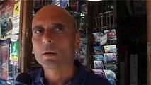 Napoli - Riviera di Chiaia, paura per una fuga di gas -live- (05.09.13)