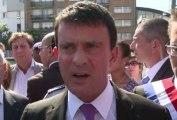 ZAPPING ACTU DU 06/09/2013 - Clash entre Manuel Valls et une habitante de Colombes