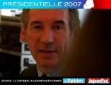 Présidentielle 2007 - Bayrou face aux lecteurs du Parisien : Envisagez-vous une alliance avec le PS ?