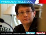 Présidentielle 2007 - Bayrou face aux lecteurs du Parisien : Quelle justice pour Monsieur X ?
