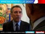 Présidentielle 2007 - Bayrou face aux lecteurs du Parisien : Son scénario du deuxième tour