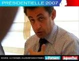Présidentielle 2007 - Sarkozy face aux lecteurs du Parisien : Que proposez-vous pour prévenir l'insécurité ?