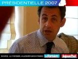 Présidentielle 2007 - Sarkozy face aux lecteurs du Parisien : Police et jeunes, comment les réconciler ?