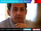 Présidentielle 2007 - Sarkozy face aux lecteurs du Parisien :  Avez_vous des regrets ?