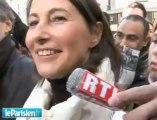 Royal - Balkany : hystérie sur le marché de Levallois-Perret