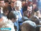 Premiers pas mouvementés de Sarkozy au salon de l'agriculture