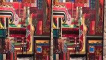Les artistes  Eric BAVOILLOT peintre et Martha ARANGO sculpteur présentent leurs oeuvres