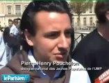 Les jeunes UMP fans de Sarkozy