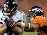 Denver Broncos Peyton Manning tossing a record tying seven touchdown passes against the Baltimore Ravens!