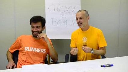 Berlim x Chicago: Video 2 - OS TREINOS