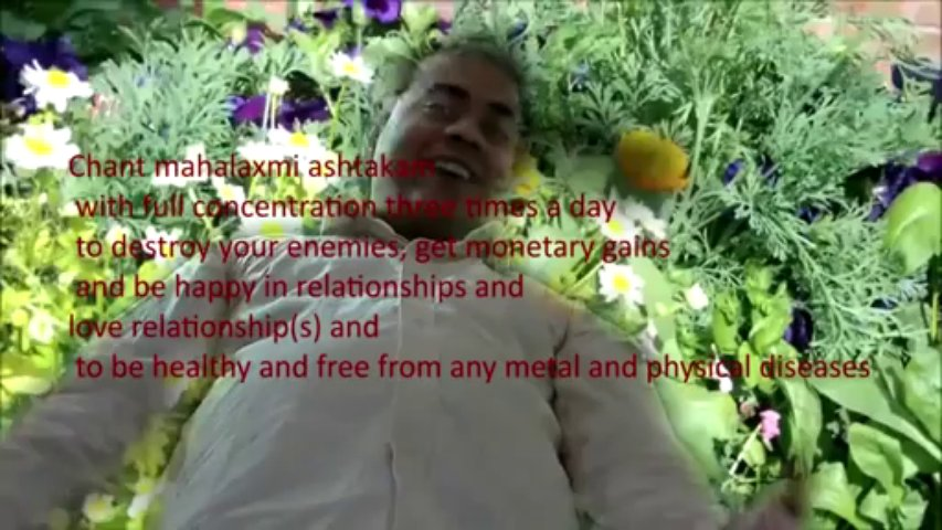 mahalaxmi ashtakam sanskrit text meaning