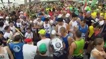 Les concurrents au départ du Marathon du Médoc