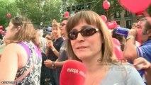 Madrileños y visitantes con Madrid 2020
