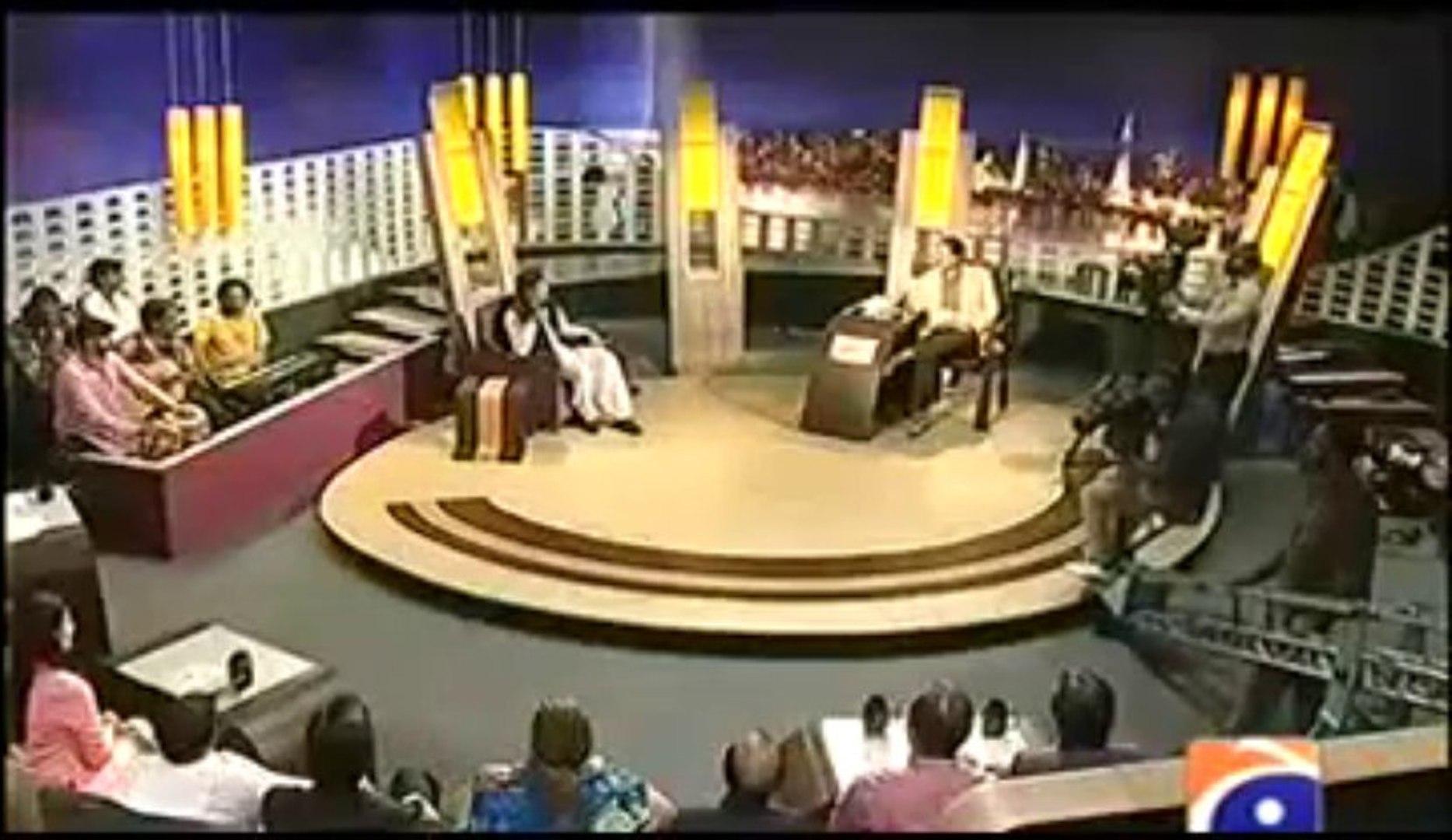 KhabarNaak on Geo News - 7th September 2013 ( 07-09-2013 ) Full with Aftab IqbaL