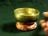 bol chantant - bol tibetain n°4 - 280gr A