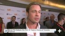 Brad Pitt Debuts His Film 12 Years A Slave At Toronto Festival
