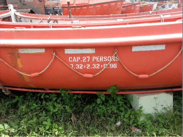 Used Fiber Boats / Rescue Boats / Life Boats for Sale
