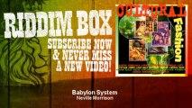 Neville Morrison - Babylon System