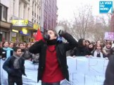 Lille : les lycéens mobilisés contre la réforme Darcos