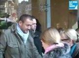 Dany Boon en gare de Lille