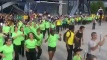 Cérémonie d'ouverture des championnats du monde d'athlétisme cadets à Lille