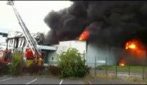 Incendie dans l'ancienne usine Danone de Seclin