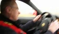 Croix-en-Ternois : à la place du passager sur la piste du circuit avec Patrick D'Aubreby comme pilote d'une Ferrari F430 !
