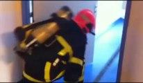 Boulogne-sur-Mer : les pompiers interviennent au centre hospitalier pour un exercice incendie