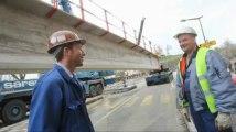 Maubeuge: travaux sur le Pont Rouge