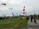 Rencontres de cerfs-volants au parc des îles de Rouvroy