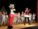 Beaurainville : gala de danse des enfants du club de gymnastique avec... Mickey