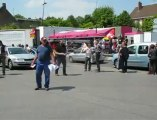 Feignies: les salariés de Sambre et Meuse distribuent des tracts