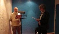 L'enregistrement de la bande son du son et lumière Les Misérables