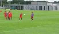 Foot (VAFC) but de Dossevi à l'entraînement