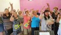Nuits secrètes d'Aulnoye Aymeries: La chorale des Mamys et des Papys