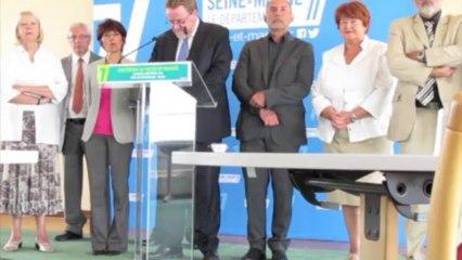 Seine-et-Marne : le sénateur Éblé reste président du conseil général et s'en explique