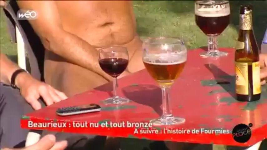 Tout nu et tout bronzé à Beaurieux