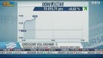 Débats au congrès sur le dossier syrien : Gregori Volokhine, dans Intégrale Bourse - 09/09