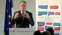 [ARCHIVE] Charte de la laïcité à l'École : discours de Jean-Paul Delevoye