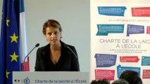 [ARCHIVE] Charte de la laïcité à l'École : discours de Najat Vallaud-Belkacem