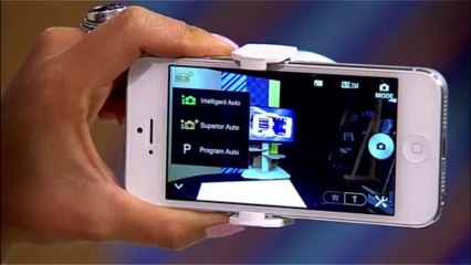 NEW - Cyber-shot QX10, QX100 Lens-Style Cameras for Smartphone Photographers