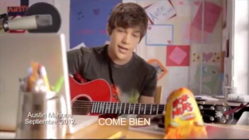 Austin Mahone Hot Nuts Commercial