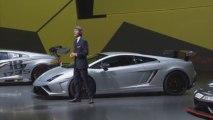 Présentation Lamborghini Gallardo LP 570-4 Squadra Corse à Francfort