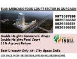 CALL US FOR ELAN MERCADO^^^8447070834^^^SECTOR 80 gurgaon