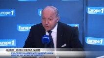 """Laurent Fabius : la proposition russe, """"une perche ou un piège"""""""