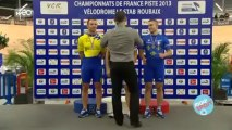 Les championnats de France de cyclisme sur piste à Roubaix