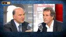 """Pierre Moscovici: """"Une volonté de stabiliser les prélèvements obligatoires"""" - 10/09"""