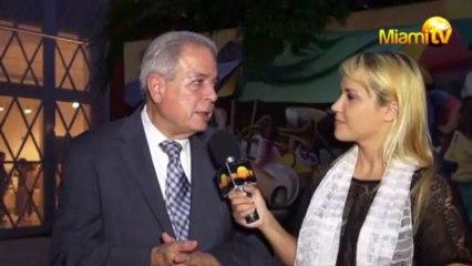 Miami TV -Jenny Scordamaglia w/ Tomas Regaldo